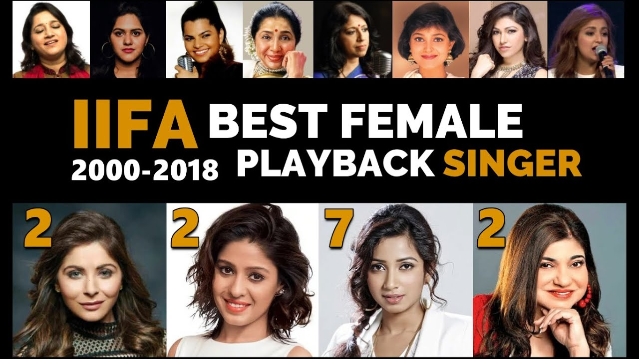 Every IIFA Female Playback Winner | 2000-2018 | Shreya Ghoshal | Alka Yagnik | Sunidhi Chauhan