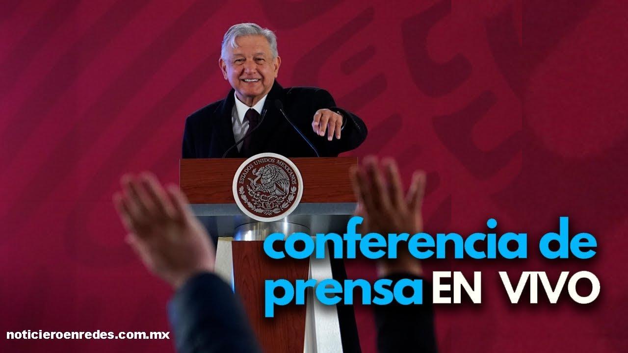 #EnVivo Conferencia matutina, la mañanera de AMLO Lunes 19 de Octubre en vivo (desde las 7 am)