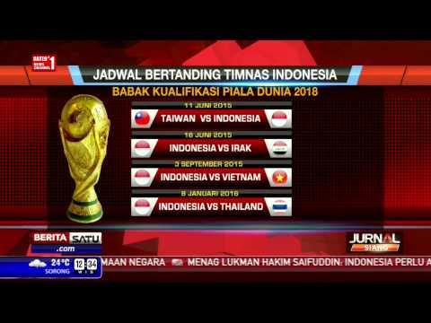 Indonesia Di Grup Neraka Kualifikasi Piala Dunia 2018 Youtube