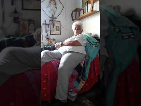 Abuelita Ana-Bisabuela en Medellín Colombia Mayo 2018.