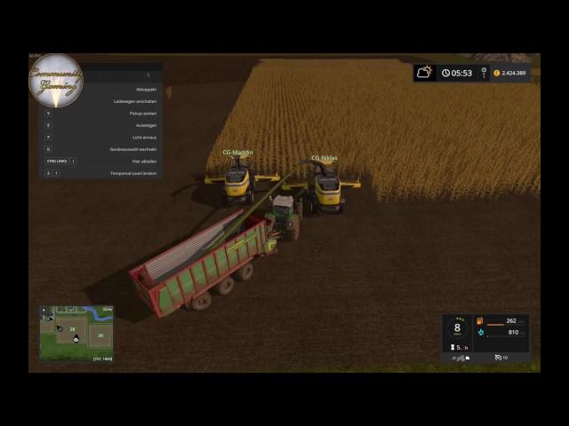 Let's Play Landwirtschafts Simulator 2017   Silo fast Voll   Folge #027