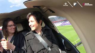"""EHang AAV's first public """"drone taxi"""" demonstration of passenger flight in Vienna 