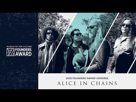 MoPOP Founders Award 2020 Honoring Alice In Chains