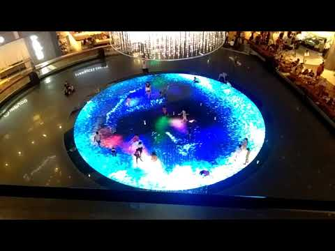 Singapore mall interactive floor