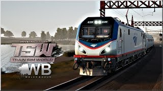 "Train Sim World - #3 ""Amerykański Sprinter"""