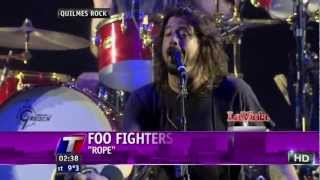 Foo Fighters - Bridge Burning + Rope (Quilmes Rock, Argentina 03-04-2012)