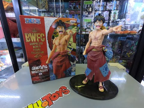 Luffy BANDAI Super One Piece Film Gold 1 Styling Figure Model Money .D