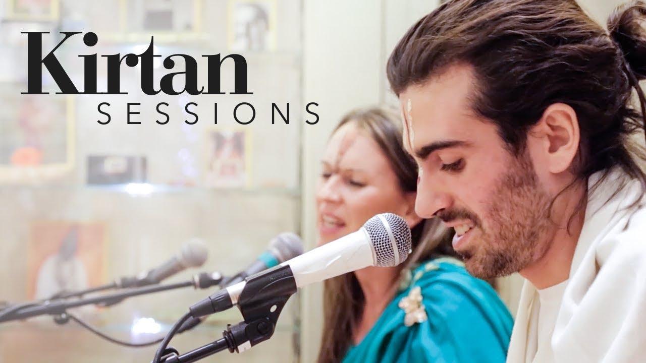 Nitai Gaura Mantra (Western Melody) at The Ashram | Kirtan Sessions
