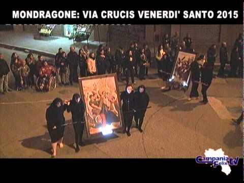 VIA CRUCIS MONDRAGONE 2015