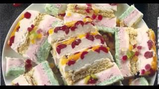Bizcocho Helado - (Dulces) - recetas de cocina sencillas