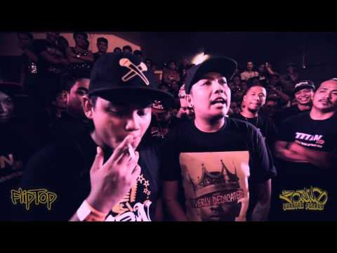 FlipTop - Kris Delano vs Prosecutor Billy @ Isabuhay Tournament 2