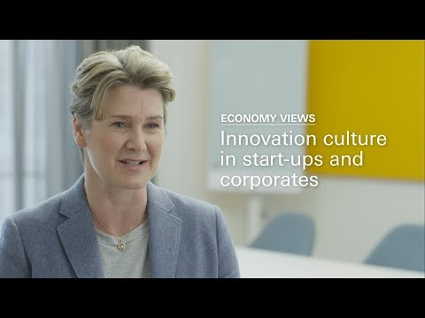 Economy Views: Innovation culture in start-ups and corporates