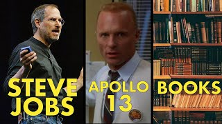 Steve Jobs: How To Run Your Meetings, Management in Movies & Books To Read