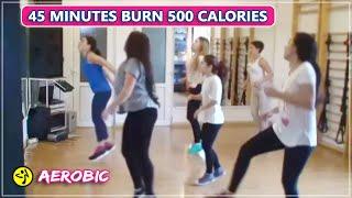 Senam Aerobic 1 JAM di Rumah | Gerakan Mengecilkan Perut dan Berat Badan