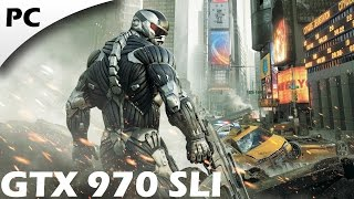 Crysis 2: Maximum Edition | PC 1080p Gameplay | GTX 970 SLI