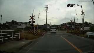 パトカー 取締 JR高茶屋駅 近辺 町屋踏切 捕まった モビリオ ドライブレコーダー