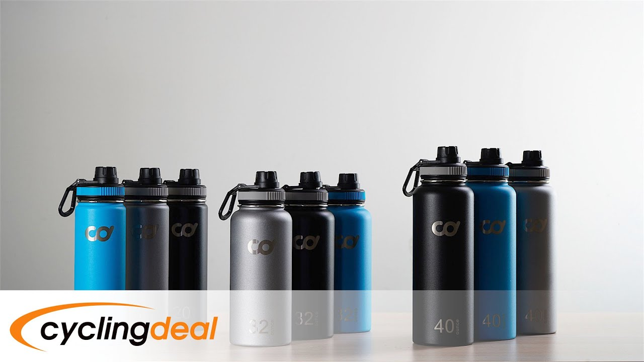 32oz or 40oz Stainless Steel Vacuum Insulated Double Wall Water Bottle 20oz