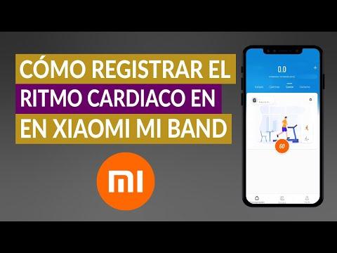 Cómo Registrar el Ritmo Cardiaco y Actividades Deportivas en Xiaomi Mi Band