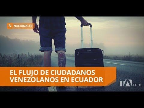 En 2018 han llegado a Ecuador 453 930 venezolanos, según Migración - Teleamazonas