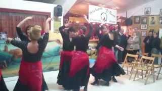 """Almazán. Sevillanas en Peña Taurina """"El Ruedo"""" 1"""