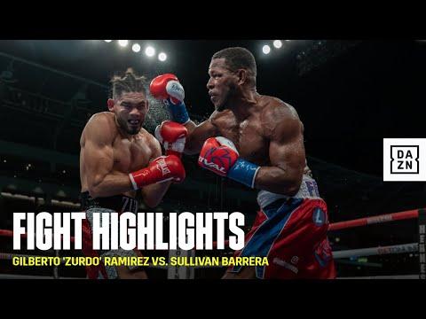 Download HIGHLIGHTS | Gilberto 'Zurdo' Ramírez vs. Sullivan Barrera