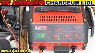 lidl chargeur de batterie ultimate speed ulg 12 test charge rapide voiture battery charger. Black Bedroom Furniture Sets. Home Design Ideas