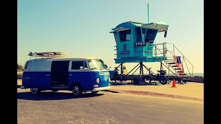 ALL-ELECTRIC 1974 VW Van by EV SoCal - Available Now