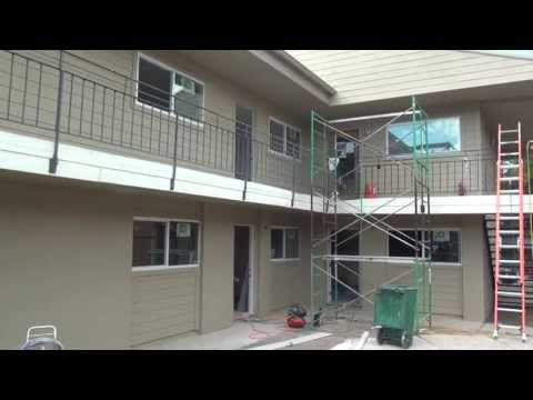 How to flip an Apartment Complex by Duke Capital Management Before and After Painting