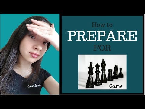 How To Prepare For a Chess Game (Expectations VS Reality)