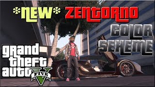 GTA 5: *NEW* Zentorno Rare Paint Color Scheme