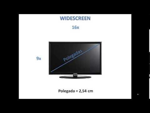 Suficiente Como calcular Polegadas de uma TV - YouTube TM65
