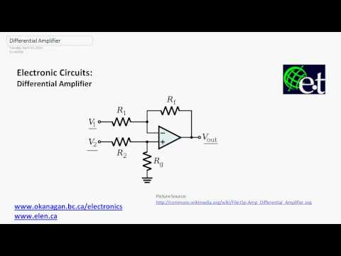 Operational Amplifiers - Differential Amplifiers