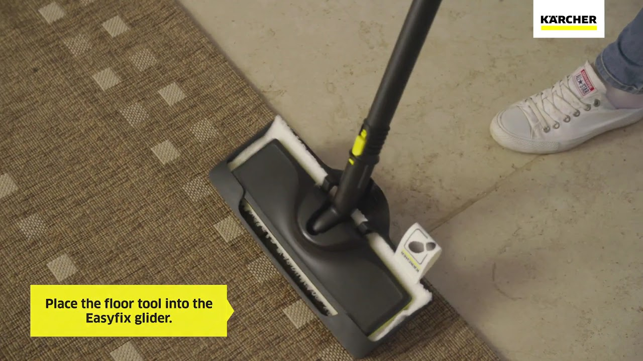 How do I use my carpet glider attachment on my Steam Cleaner? | Kärcher UK