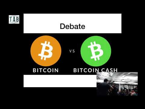 Most heated Bitcoin Vs Bitcoin Cash Debate - highlights audience disrupts meetup