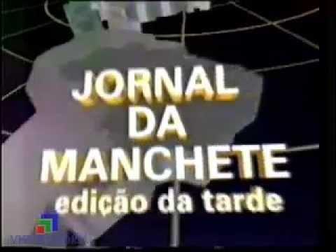 Abertura Jornal da Manchete Edição da Tarde - Rede Manchete (1989)