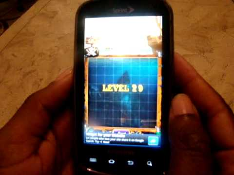 Jewels Deluxe Level 29 Android Phone