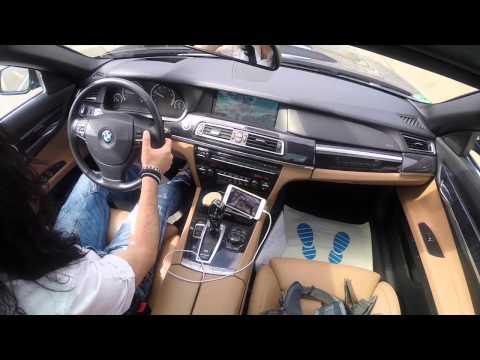 BMW 760 Li yi aldığım  an ilk video