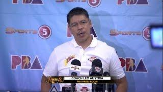Presscon: San Miguel vs. Ginebra - Finals G1 | PBA Philippine Cup 2016 - 2017