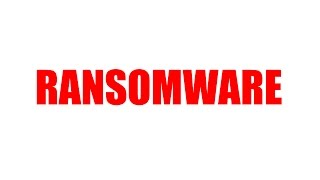 Dealing With Ransomware