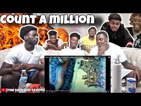 NoCap – Count A Million (feat. Lil Uzi Vert) [Official Visualizer]*REACTION*