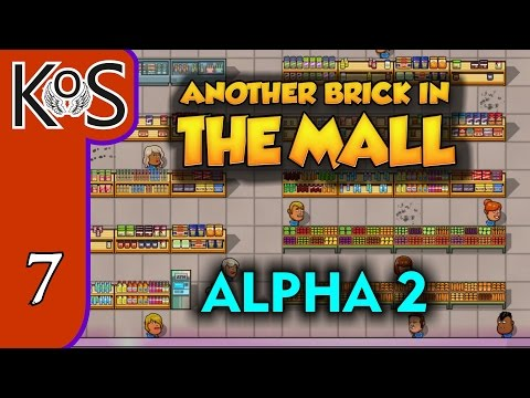 Another Brick In the Mall Ep 7: FOOD AT LAST! - ALPHA 2 - Let's Play, Gameplay