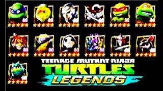 Черепашки ниндзя ЛегендыTMNT Legends #4 Мульт игра для детей #Мобильные игры