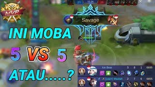 FAIR MOBA 5VS5 ?? Di Solo Rank Semua Itu Sirna!! - mobile legends indonesia
