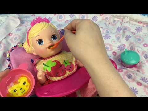 BABY ALIVE Teacup Surprises Doll Feeding