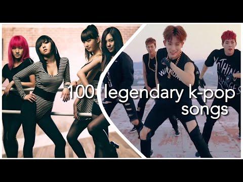 100 LEGENDARY K-POP SONGS (READ DESCRIPTION)