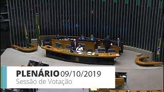 Plenário - Sessão para a votação de propostas legislativas - 09/10/2019 - 17:00
