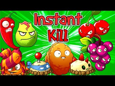 Plants vs. Zombies 2 Instant Kill Plants Challenge (Plantas Contra Zombies 2)