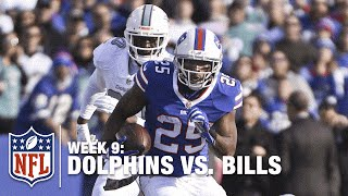 LeSean McCoy Blasts Through the Defense for a TD! | Dolphins vs. Bills | NFL