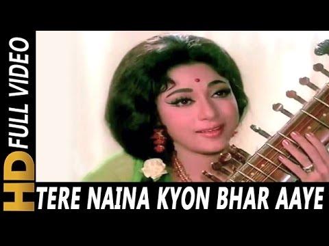 Tere Naina Kyon Bhar Aaye  Lata Mangeshkar  Geet 1970 Songs  Rajendra Kumar, Mala Sinha
