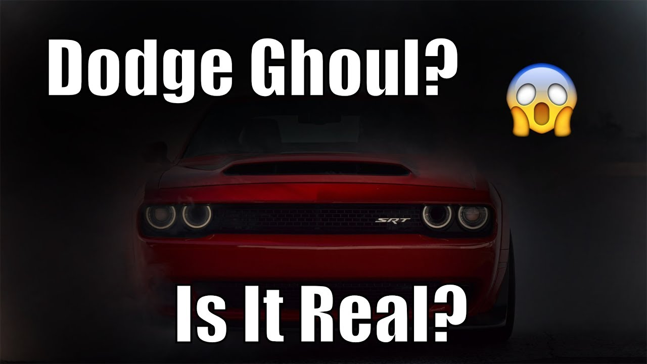 2020 Dodge Challenger Srt Ghoul Is It Real Youtube
